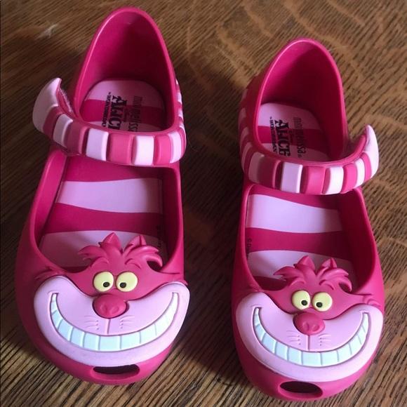 Mini Melissa Ultragirl Alice in the Wonderland Cheshire Cat Mary Jane Girls Baby